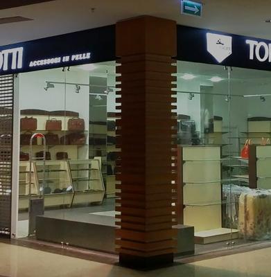 Световые короба для бутика Tony Perotty